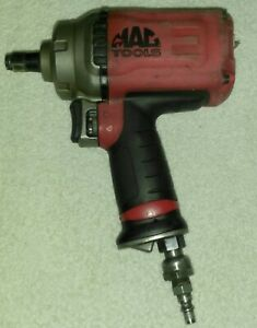 Mac Tools Awp050 1 2 Impact Wrench Air Gun Low Profile Titanium