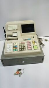 Sanyo Ecr305 Electric Electronic Cash Register With Keys