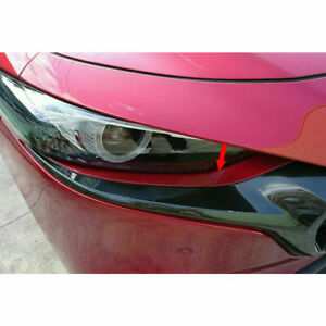 Painted Frp Light Eyelid Lamp Trim Front For Mazda 3 4th 5dr Hatchback 2019