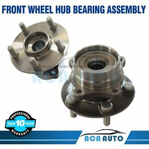 2 Front Wheel Hub Bearing Assembly Pair For Toyota Prius 2004 2008 513265