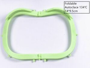 Dental Frame Hager Rubber Dam Sheets Light Foldable X ray Film 134 Green Color