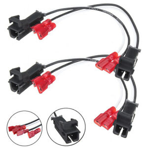 4pcs Speaker Harness Connector For 1985 Up Gmc Chevy Buick Cadillac 72 4568 New