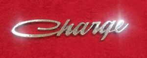 Mopar 1966 1970 Dodge Charger Emblem Oem 2841886 1967 1968 1969 Sail Panel