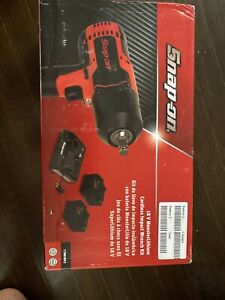 Snap on 18 V monsterlithium 1 2 Cordless Impact Wrench W 2 Battery charger Nib