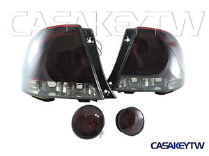 Led Red Smoke Tail Lights Rear Trunk Led Lights For 98 05 Is200 Is300 Altezza