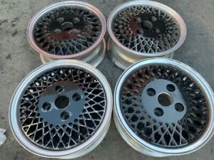 13 Wheels Rims Mesh Black 192 92 American Racing 4x100 Honeycomb Enkei
