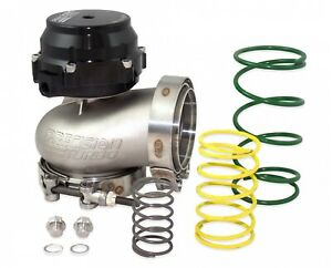Pte 085 3500 External Wastegate Kit 66mm Black Co2 Control Turbo Boost