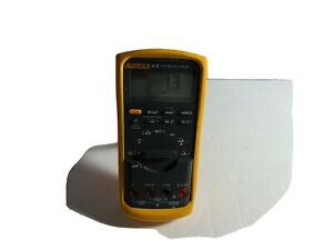 lotb Fluke 87 V True Rms Multimeter No Leads Included In A Working Order Mint