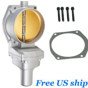 Cast Aluminum 102mm Drive By Wire Electronic Throttle Body For Ls2 Ls3 Ls7 Lsx