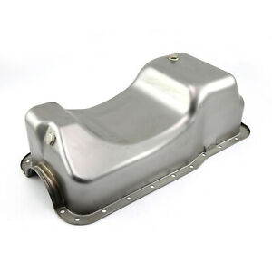 Ford Sb 289 302 Windsor Fox Body Dual Sump Unplated Oil Pan