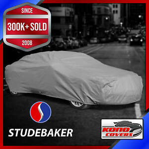 Studebaker outdoor Car Cover Weatherproof 100 Full Warranty Custom fit