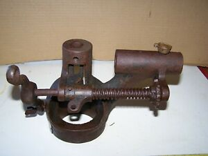 Old Eclipse Steam Governor Frame Traction Engine Tractor Hit Miss Gas Oiler Nice