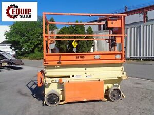 2015 Jlg 1932rs Electric Scissor Man Aerial Boom Lift 19 Ft Height 291 Hours