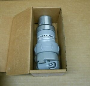 1 Nib Hubbell Vp3475 Plug Assembly 30a 30 Amp 4p 4 Pole 4w 4 Wire 250vdc 600vac