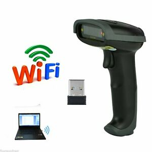 Handheld Laser Barcode Bar Code Scanner Reader Wireless Bluetooth Usb Cable