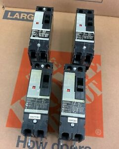 Lot Of 4 Siemens Hhed62b015 Circuit Breaker 2 Pole 600v 15 Amp