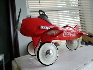 COCA-COLA PEDAL PLANE*BY KEN KOVACH* # 4690 of 10,000 1995- SCALE 1:3