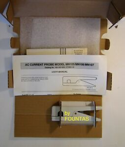 Aemc Mn105 Clamp On Ac Current Amp Probe 2 150a To 2 150 Ma For Dmm