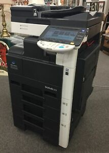 Konica Minolta Bizhub 223 Black white Copier Fax Printer Scanner
