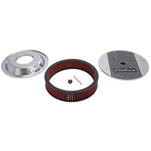 Edelbrock 4268 Elite Series Aluminum Air Cleaner