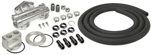 Derale 15749 Universal Dual Mount Oil Filter Relocation Kit