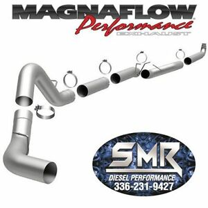 Magnaflow 5 Turbo Back Exhaust Kit For 2001 2010 Chevy Gmc Duramax 6 6l