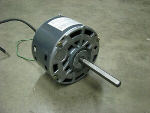 Ge Electric Fan Motor 1 8 Hp 1050 Rpm 115 Volt Ac 1 Phase 5ksp39fg2912at