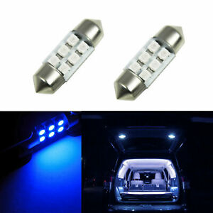 Blue 31mm Led Interior Dome Reading Light Bulbs For Toyota Camry Collora Tacoma