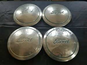 1940 S Ford Hubcaps Wheelcover Dog Dish