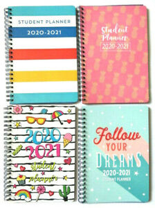 2020 2021 Weekly Student Planner For Daily Agenda Monthly four Covers