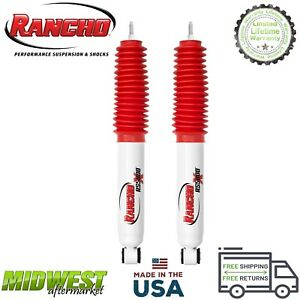 Rancho Rs5000x Front Set Shock Absorbers For 2004 2012 Chevy Colorado Gmc Canyon