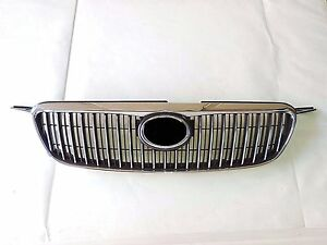 Chrom Grill For 2003 2007 Toyota Corolla Altis Jdm Bumper Grille 03 06 Gtc1