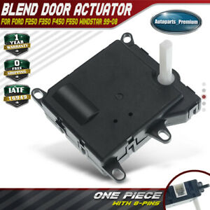 Hvac Ac Heater Blend Door Actuator For Ford F250 F350 F450 F550 1999 2008 Main