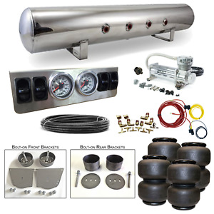 64 72 Chevelle Airbag Kit Stage 1 1 4 Manual Control 4 Path Air Ride System