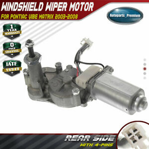 Rear Windshield Wiper Motor For Pontiac Vibe Toyota Matrix L4 1 8l 85130 01020