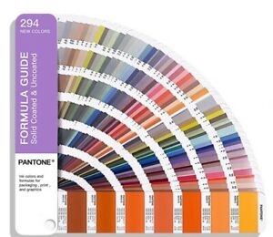Pantone Plus Series Gp1601a Solid Coated uncoated Formula Guide 2020 Edition