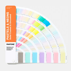 Pantone Gg1504a Pastels Neons Coated uncoated Set