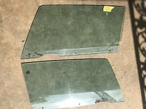 1965 1966 Chevy Impala Convertible Tinted Side Door Window Glass Lh