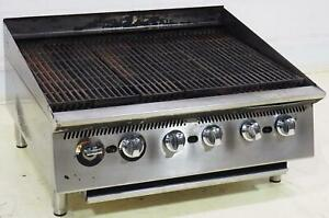 Star 8136rcb 36 High Intensity Charbroiler Grill Range