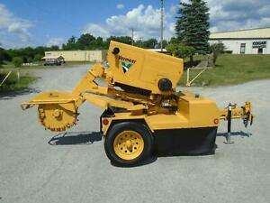 2000 Vermeer Sc752 Stump Grinder Trailer Mounted Forestry Arborist
