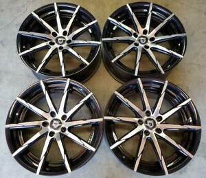 Lexani Css15 Wheels Rims 20 Inch 5x120 Staggered Gloss Black Machine