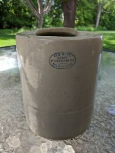Red Wing Chicken Watering Union Stoneware Co Crock