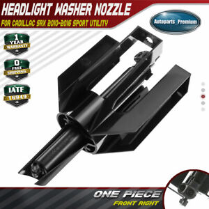 Headlight Washer Nozzle For Cadillac Srx 2010 2016 3 6l Front Right Rh 15949236