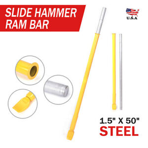 Heavy Duty Impact Tire Bead Breaker Slide Hammer Ram Bar For Car Truck Tractors