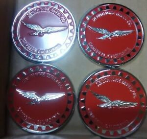 Zenith Wire Wheels Campbell California Red Chrome Reverse Size 2 25