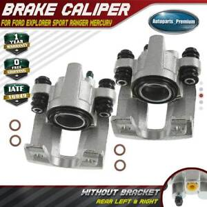 2x Brake Calipers For Ford Explorer 1995 2000 Ranger Mountaineer Rear Left