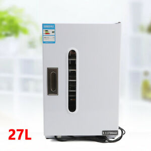 27l Dental Medical Surgical Instruments Uv Sterilizer Disinfection Cabinet