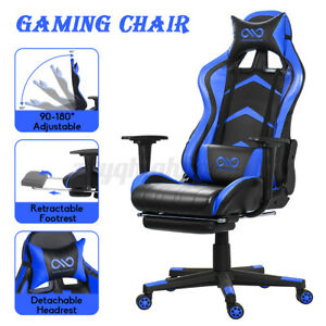Executive High Back Office Chair Computer Racing Swivel Adjustable Gaming Chairs
