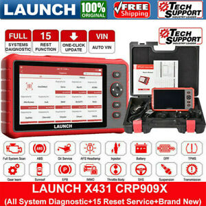 Launch X431 Crp909x Car All System Scanner Obd2 Code Reader Auto Diagnostic Tool