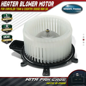 A C Heater Blower Motor For Chrysler Town Country 08 16 Grand Cherokee Front